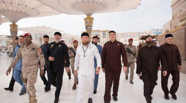 СаIудийн Iаравехь хилира Кадыров Рамзан