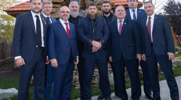 Пачхьалкхан Думин делегаци хилира Нохчийчохь